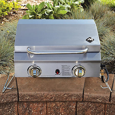 Member's Mark Portable Stainless Steel 2-Burner Gas Grill