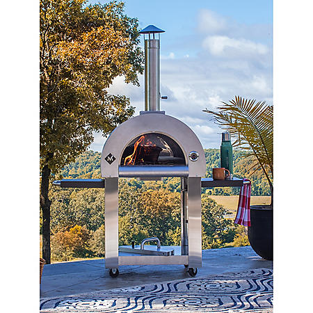 Member's Mark Wood-Burning Pizza Oven and Cart with Cover