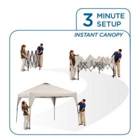 new product 59f8d dc564 Member's Mark 10' x 10' Instant Canopy - Sam's Club