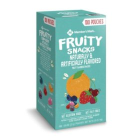 Member's Mark Fruity Snacks (0.8 oz., 100 pk.)