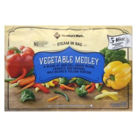Member's Mark Vegetable Medley (16 oz. pouches, 5 pack)
