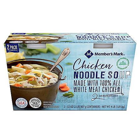Member's Mark Chicken Noodle Soup (32 oz , 2 pk ) - Sam's Club