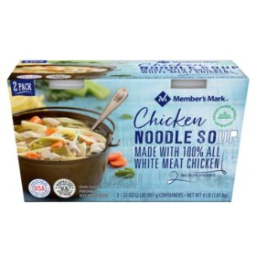 Member's Mark Chicken Noodle Soup (32 oz. ea., 2 pk.)