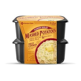 Member's Mark Yukon Gold Mashed Potatoes (4 lbs.)