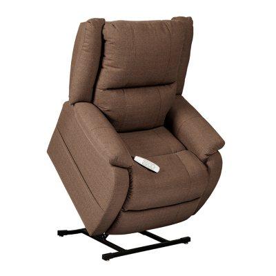 Sensational Members Mark Power Recline Lift Chair W Adjustable Bralicious Painted Fabric Chair Ideas Braliciousco