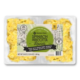 Member's Mark Spinach and Ricotta Ravioli (19 oz., 2 pk.)