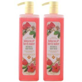 Member's Mark Botanical Body Wash, Hibiscus & Birch Water (33.8 fl. oz., 2 pk.)