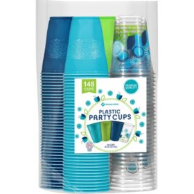 Member's Mark Premium Quality Cups (148 ct.)- Choose Your Style