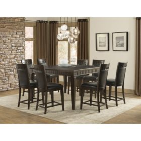 Member's Mark Madison 9-Piece Counter-Height Dining Set