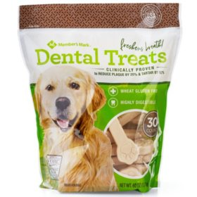 Member's Mark Dental Chew Treats for Dogs (30 ct.)