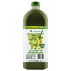 Member's Mark Reduced Sugar Green Smoothie (64 oz.)