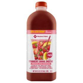 Member's Mark Reduced Sugar Strawberry-Banana Smoothie (64 oz.)