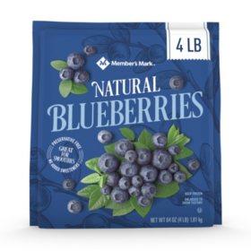 Member's Mark Natural Frozen Blueberries (64 oz.)