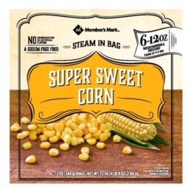 Member's Mark Super Sweet Cut Corn (12 oz. pouches, 6 count)
