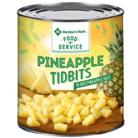 Member's Mark Pineapple Tidbits (107 oz. can)
