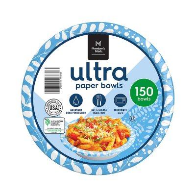Member S Mark Ultra Soup Salad Paper Bowls 20 Oz 150 Ct Sam S Club