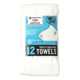 Member's Mark Flour Sack Towels, 12 pk.