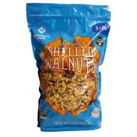 Member's Mark Natural Shelled Walnuts (3 lbs.)