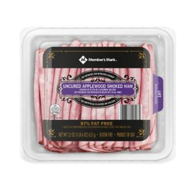 Member's Mark Uncured Applewood Smoked Ham (22 oz.)