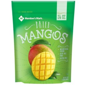 Member's Mark Dried Mangos (24 oz.)