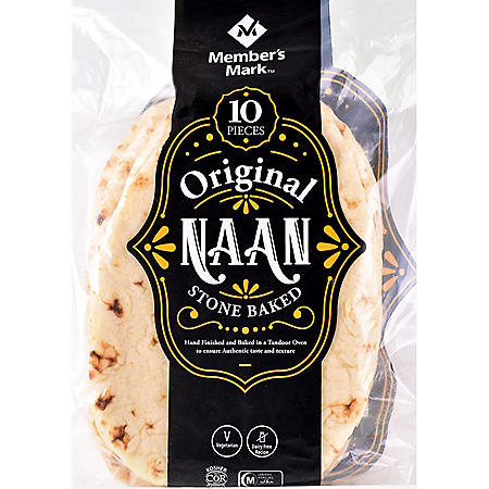 Member's Mark Original Stone Baked Naan (35.2 oz.)