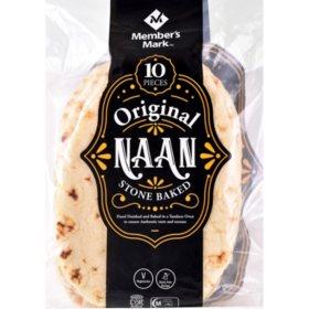 Member's Mark Original Stone Baked Naan (35.2oz)