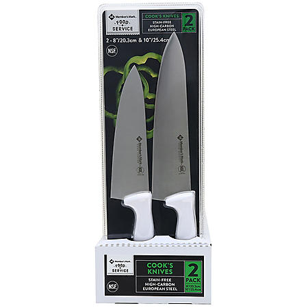 Member's Mark Cook's Knives (2pk.)