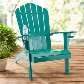 Member's Mark Painted Adirondack Chair with Drink Holder (Various colors)