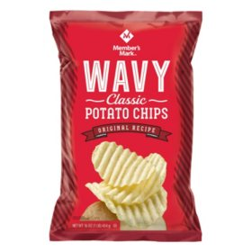 Member's Mark Wavy Potato Chips (16 oz.)