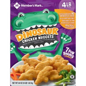 Member's Mark All-Natural Dinosaur Chicken Nuggets (4 lbs.)
