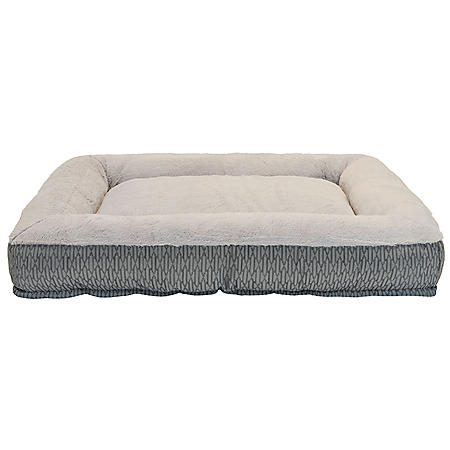 """Member's Mark Bolster Sleeper Pet Bed, 35"""" x 44"""" (Choose Your Color)"""