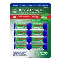 Member's Mark Nicotine Lozenge 4mg, Mint Flavor (27 ct., 8pk.)