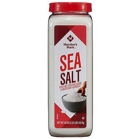 Member's Mark Sea Salt (36 oz.)