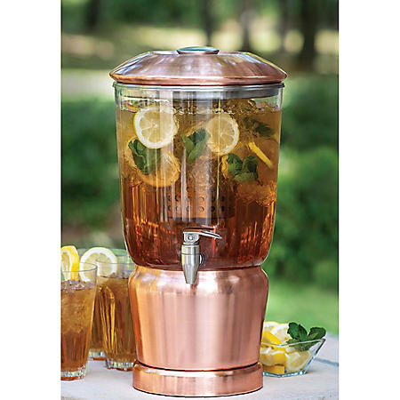 3-Gallon Beverage Dispenser with Infuser (Assorted Colors)