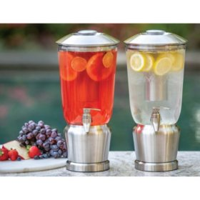 Member's Mark 1.5 Gallon Tritan Beverage Dispenser, 2 Pack (Assorted Colors)