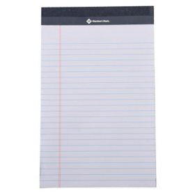Members Mark Jr Writing Pad - Perforated White 24-Pack