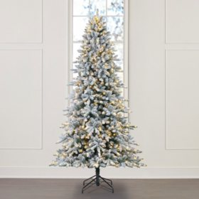 Member's Mark 9' Aspen Flocked Christmas Tree