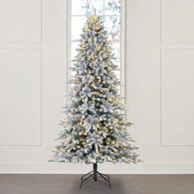 Member's Mark 9' Aspen Flocked Christmas Tree