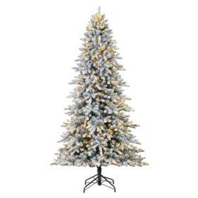 finest selection 3fe5b 7ab09 Member's Mark 9' Aspen Flocked Christmas Tree - Sam's Club