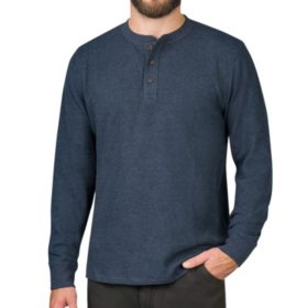 Member's Mark Long-Sleeve Thermal Henley