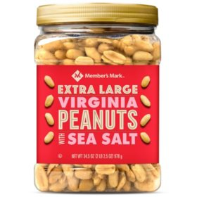 Member's Mark Extra Large Virginia Peanuts (34.5 oz.)