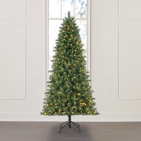 Member's Mark 7.5' Color-Changing Virginia Pine Christmas Tree