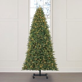Member's Mark 9' Grow and Stow Adjustable Height Sonoma Fir Christmas Tree