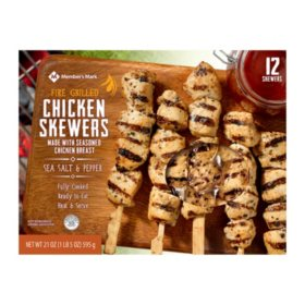 Member's Mark Fire-Grilled Chicken Skewers (1.5 lbs.)