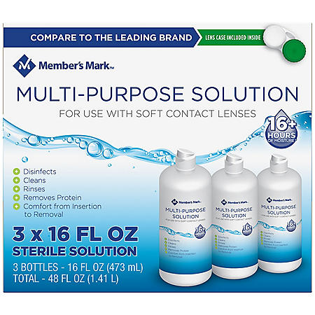 Members Mark Multi-Purpose Solution (16 oz. ea., 3 pk.)