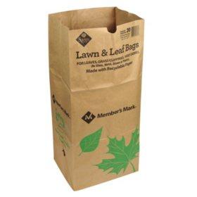 Member's Mark Paper Lawn Bags