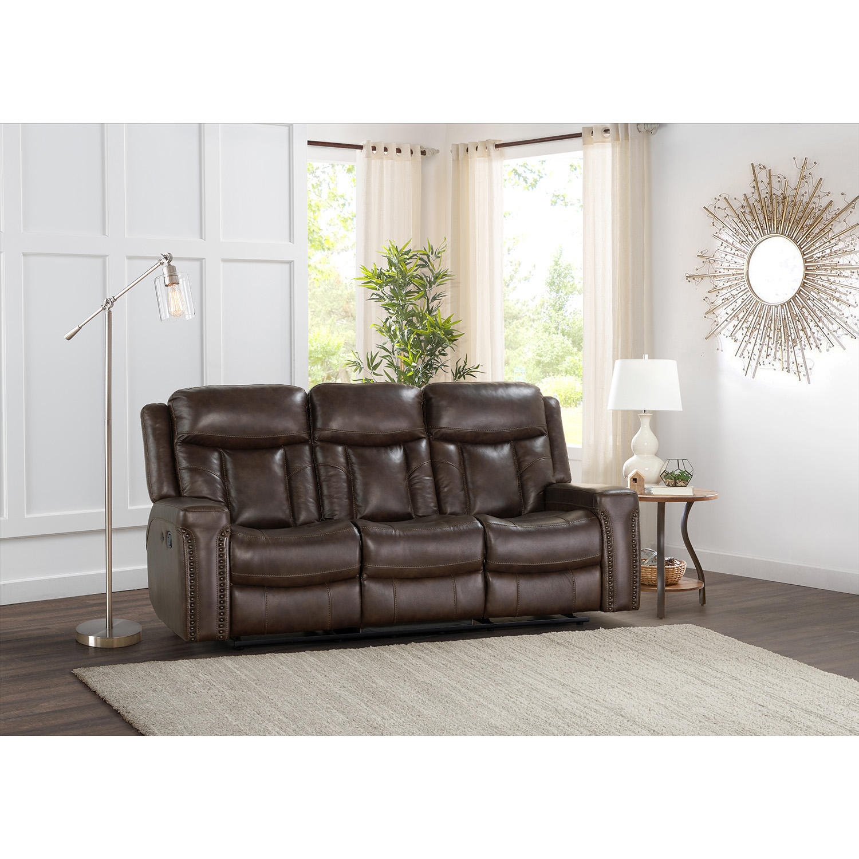 Member's Mark Standage Leather Motion Sofa