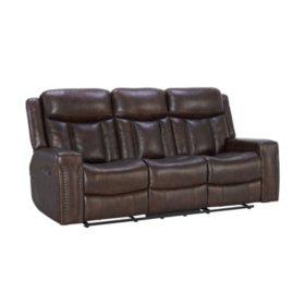 Member\'s Mark Standage Leather Motion Sofa