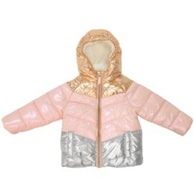Member's Mark Girl's Cozy Puffer Jacket (Various Styles)