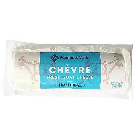 Member's Mark Chevre Fresh Goat Cheese Log (16 oz.)